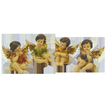 FIGURA ANGEL SENTADO 5CM (REF 07/143)