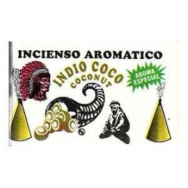 INCIENSO CONO INDIO COCO