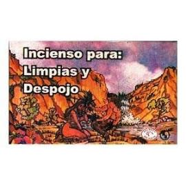 INCIENSO CONO LIMPIAS Y DESPOJOS