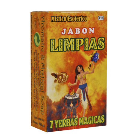 JABON LIMPIAS 7 HIERBAS MAGICAS