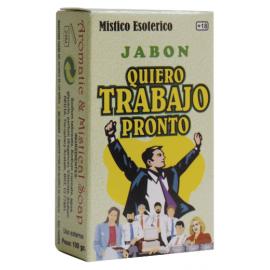 JABON QUIERO TRABAJO PRONTO