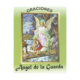 LIBRITO ORACIONES ANGEL DE LA GUARDA 7X5 CM