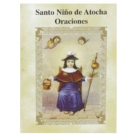 LIBRITO ORACIONES NIÑO DE ATOCHA 7X5 CM