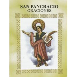 LIBRITO ORACIONES PANCRACIO 7X5 CM
