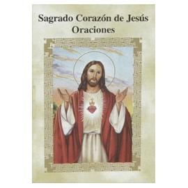 LIBRITO ORACIONES SAGRADO CORAZON DE JESUS 7X5 CM