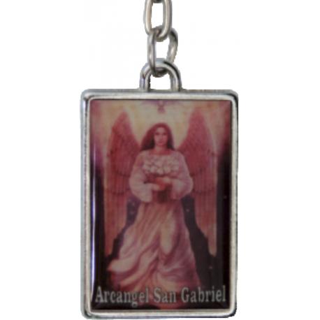 LLAVERO ARCANGEL SAN GABRIEL 4CM