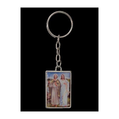 LLAVERO SAN JUDAS Y JESUS 4cm