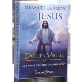 MENSAJES DE AMOR DE JESUS (44 CARTAS ORACULO DE INSPIRACION)