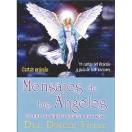 MENSAJES DE TUS ANGELES CARTAS ORACULO