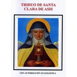 NOVENA TRIDUO DE SANTA CLARA DE ASIS