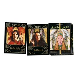 ORACULO ARCANGELES CARTAS DE ORO INSPIRATIONAL
