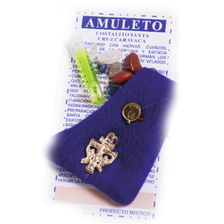 AMULETO CRUZ DE CARAVACA