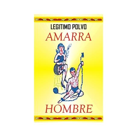 POLVO AMARRA HOMBRE