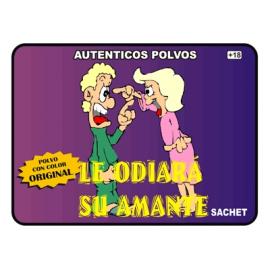 POLVO ESPECIAL LE ODIARA SU AMANTE