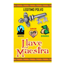 POLVO LLAVE MAESTRA