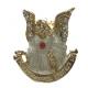 ANGEL DE LA GUARDA PIN COLGAR CUNA (AZUL) 3 cm