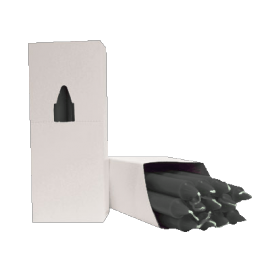 VELA 20 CM ALCANFOR (caja 12/uni)