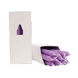 VELA 20 CM SALVIA (caja 12/uni)