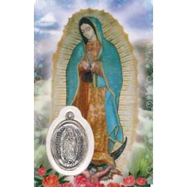 ESTAMPA MEDA GUADALUPE VIRGEN DE MEXICO