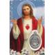 ESTAMPA MEDA SAGRADO CORAZON DE JESUS