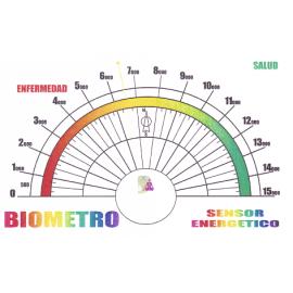 BIOMETRO SENSOR ENERGETICO 13X8,5CM