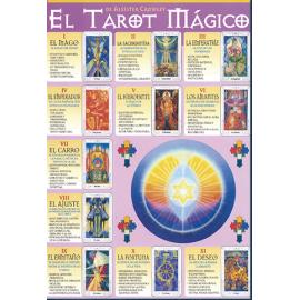 FICHA EL TAROT MAGICO DE ALEISTER CROWLEY (29,5 x 21 cm)