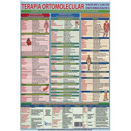FICHA TERAPIA ORTOMOLECULAR VADEMECUM DE ENFERMEDADES (29,5 x 21 cm) REF 4695
