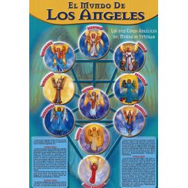 FICHA EL MUNDO DE LOS ANGELES  (29,5  x 21 cm)