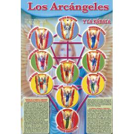 FICHA DE LOS ARCANGELES (29,5 x 21 cm)
