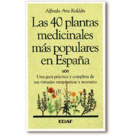 LAS 40 PLANTAS MEDICINALES MAS POPULARES DE