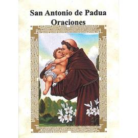 LIBRITO ORACIONES ANTONIO DE PADUA 7X5 CM
