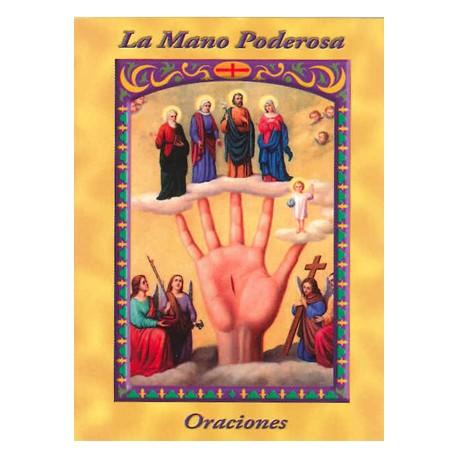 LIBRITO ORACIONES LA MANO PODEROSA 7X5 CM