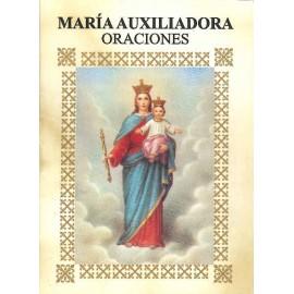 LIBRITO ORACIONES MARIA AUXILIADORA 7X5 CM