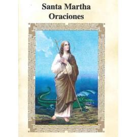 LIBRITO ORACIONES MARTHA 7X5 CM