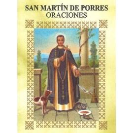 LIBRITO ORACIONES MARTIN DE PORRES 7X5 CM