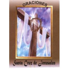 LIBRITO ORACIONES SANTA CRUZ DE JERUSALEN 7X5 CM