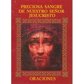 LIBRITO ORACIONES PRECIOSA SANGRE DE NUESTRO