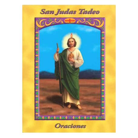 LIBRITO ORACIONES JUDAS TADEO 7X5 CM