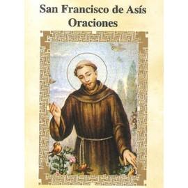 LIBRITO ORACIONES FRANCISCO DE ASIS 7X5 CM
