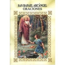 LIBRITO ORACIONES ARCANGEL RAFAEL 7X5 CM