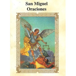 LIBRITO ORACIONES ARCANGEL MIGUEL 7X5 CM