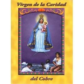 LIBRITO ORACIONES VIRGEN CARIDAD DEL COBRE 7X5 CM