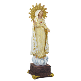 VIRGEN CORAZON DE MARIA BASE 40CM (REF 05/343)